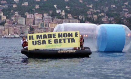 Basta plastica in mare, l'iniziativa di Greenpeace Italia
