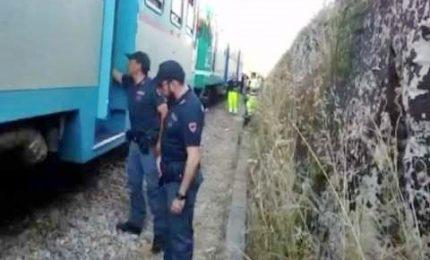 Il filmato dell'incidente ferroviario in Puglia, 15 i feriti