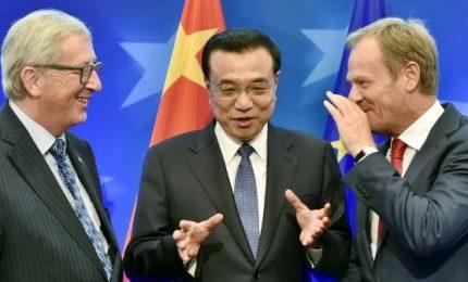 Ue-Cina unite sul clima. Il mondo s'indigna per abbandono Usa