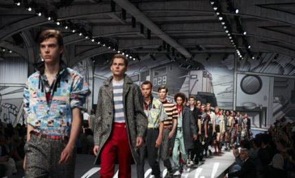 Milano Moda Uomo, i supereroi di Prada tra stile e fumetti