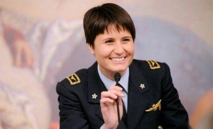 E' ufficiale, Samantha Cristoforetti ha lasciato l'Aeronautica