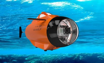 A Shanghai droni sottomarini, valigie robot ed esoscheletri