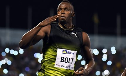Ultimi 100 metri e passerella trionfale di re Bolt a Kingston