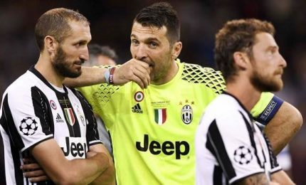 Juventus calcio, Buffon e Chiellini nel team of the year Uefa