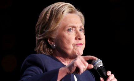 Hillary Clinton appoggia Biden per la corsa alla Casa Bianca