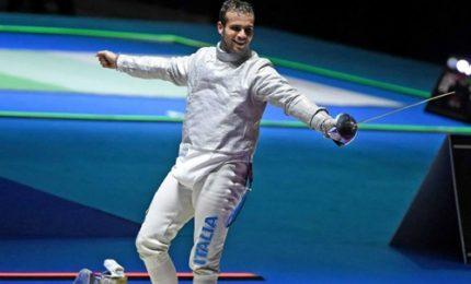 Luca Curatoli bronzo nella sciabola maschile