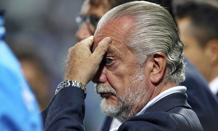 """De Laurentiis: """"Avanti con Gattuso. Oshimen e Callejon? Vediamo"""""""
