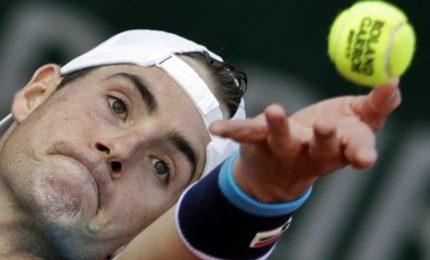 Roland Garros, Lorenzi eliminato da Isner