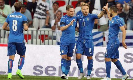 """Italia-Uruguay 3-0. Ventura: """"Sulla strada giusta"""""""