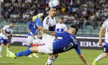 """L'Italia travolge San Marino. Ventura: """"Nazionale del futuro"""""""