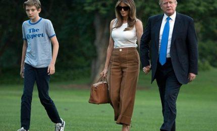 Melania Trump ha finalmente traslocato alla Casa Bianca