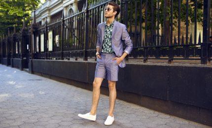Moda uomo, il nuovo trend per l'estate sono gli shorts
