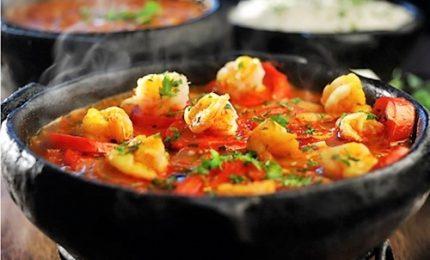 Muqueca de camarao, lo stufato tipico della cucina brasiliana