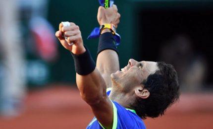 Roland Garros, Rafael Nadal conquista la decima