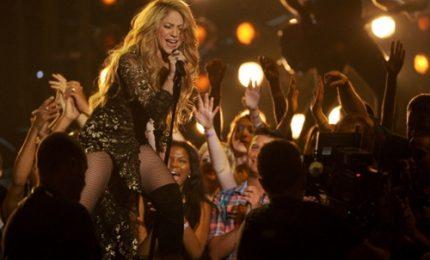 Shakira a Milano il 3 dicembre con l'El Dorado World Tour