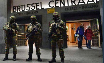 Attacco fallito, esplosione a Bruxelles. Ucciso uomo con cintura esplosiva
