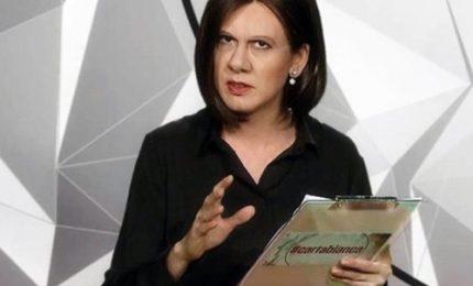 """Virginia Raffaele è Bianca Berlinguer: """"Ci vediamo mercoledì"""""""