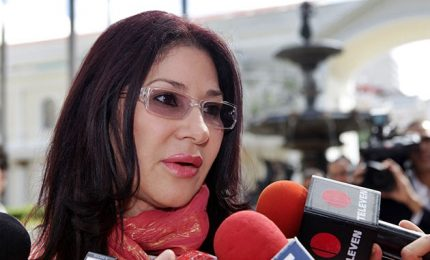 La First Lady del Venezuela candidata all'Assemblea costituente