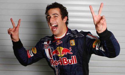 Ricciardo più veloce in seconde libere, poi Vettel