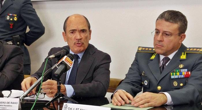 """'Ndrangheta, il procuratore: """"Non è solo una retata, è molto di più"""""""