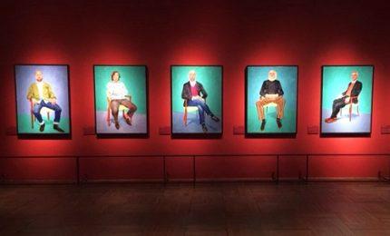 I ritratti di Hockney, l'infinito self portrait di un pittore