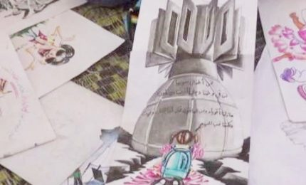 Il rifugiato siriano che dipinge gli orrori dell'Isis
