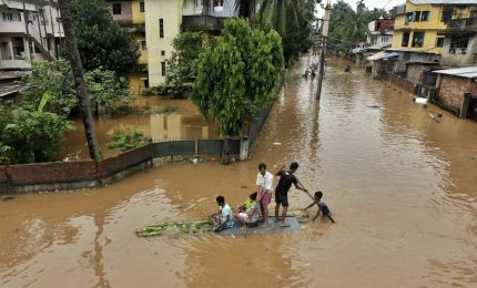 In India almeno 18 morti per alluvioni e piogge torrenziali