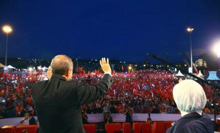 Turchia, celebrazioni primo anniversario fallito golpe