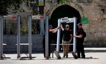 Israele rimuove metal detector da Spianata
