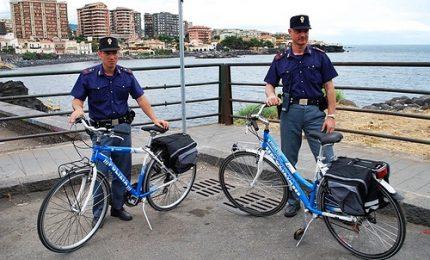 Sicurezza a Palermo, ora la polizia corre anche in bici