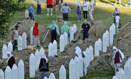 A Srebrenica, 22 anni dopo si inumano ancora delle vittime