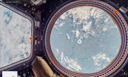 Spazio, la Stazione spaziale è anche su Google Street View