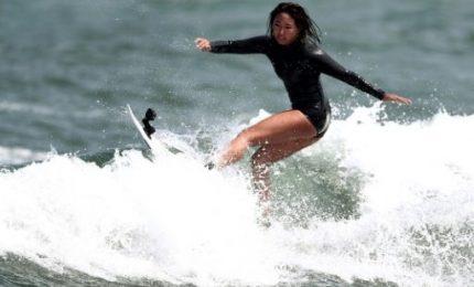 La sexy giapponese Minori Kawai punta all'oro