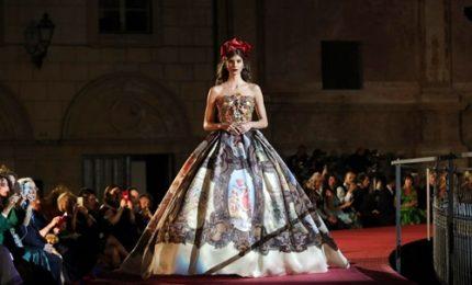 Palermo, una passerella a cielo aperto per Dolce & Gabbana