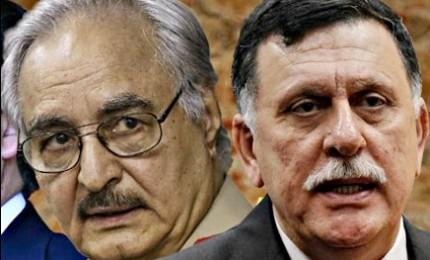 """Crisi libica verso una soluzione. Haftar: """"I libici questo mese avranno unico governo"""""""