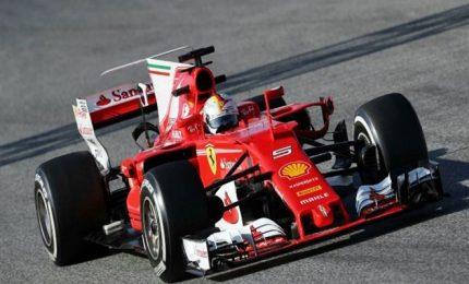 """Super Vettel in pole: """"Macchina e pista fantastica"""""""