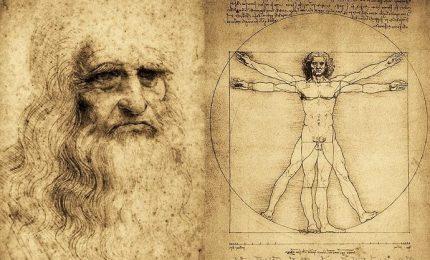L'uomo vitruviano in 3d svela il segreto di Leonardo da Vinci