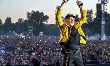 Musica, Vasco chiude Tour con 450mila presenze