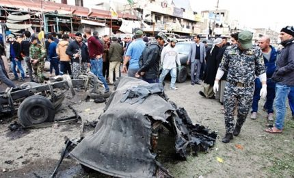 Iraq, autobomba in quartiere di Baghdad: almeno 11 morti