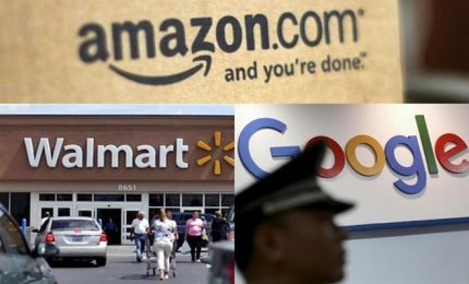 "Wal-Mart e Google nella ""lotta"" ad Amazon"