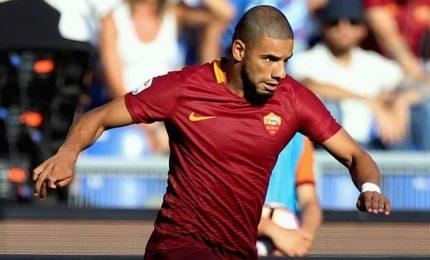 Roma calcio, stop di 15 giorni per  Bruno Peres