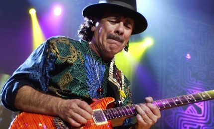 "Santana presenta album ""Power of Peace"": ""Contro l'idiota dei muri"""