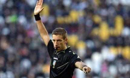 Arbitri: derby Torino a Giacomelli, Napoli-Spal a Mariani