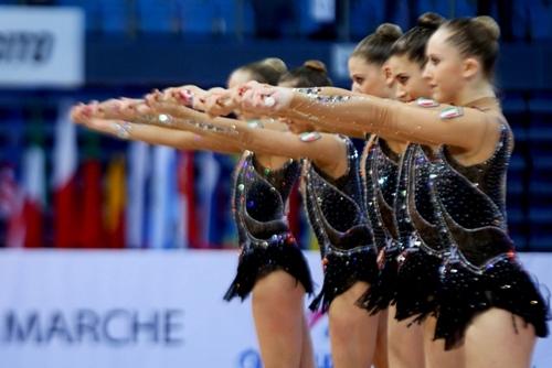 """Ginnastica ritmica, a Pesaro la """"prima"""" italiana dei Mondiali"""