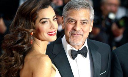 George e Amal Clooney aiuteranno 3 mila bambini rifugiati siriani