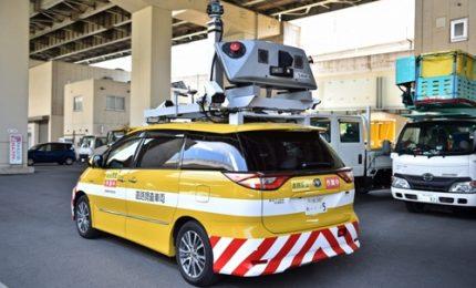 In Giappone droni e street view controllano le strade