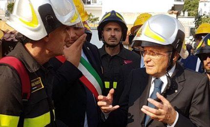 """Mattarella in vista a Ischia. """"Non lasciateci soli"""""""