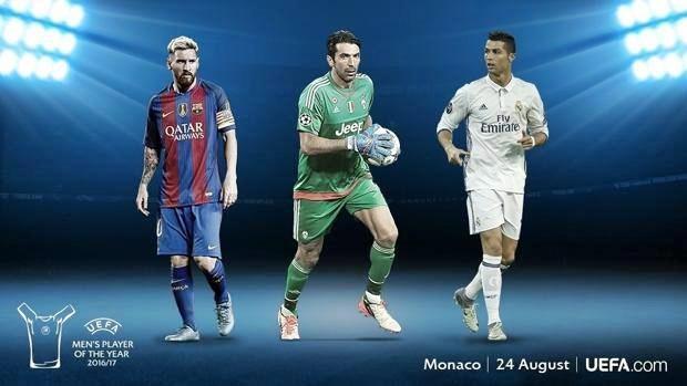 Juventus, Buffon sfida Ronaldo e Messi per calciatore dell'anno