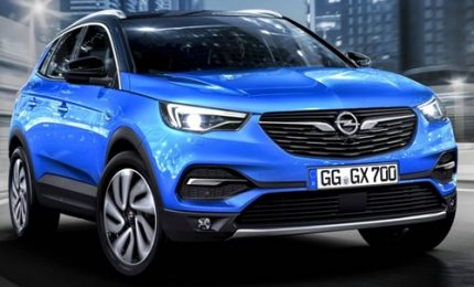 """Il nuovo Suv di Opel """"Grandland X"""" al salone di Francoforte"""