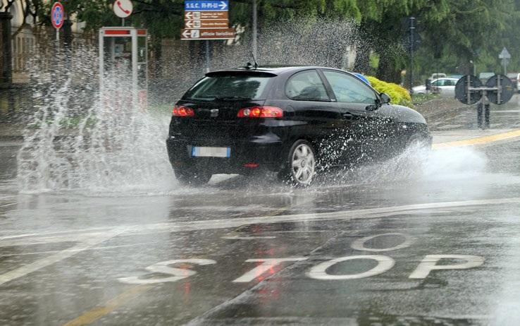 Protezione civile, allerta per pioggia e vento forte al Centro-Sud
